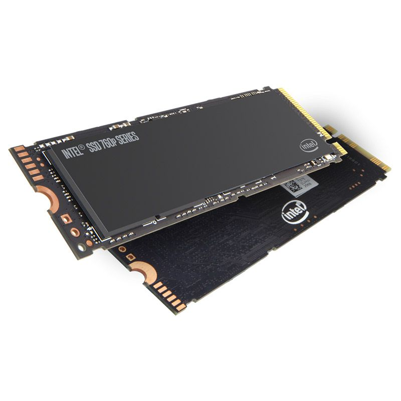 SSD M.2 Intel Serie 760P - 512GB, PCIE 3.0