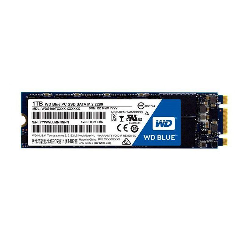 SSD M.2 Western Blue - 1TB, Sata III