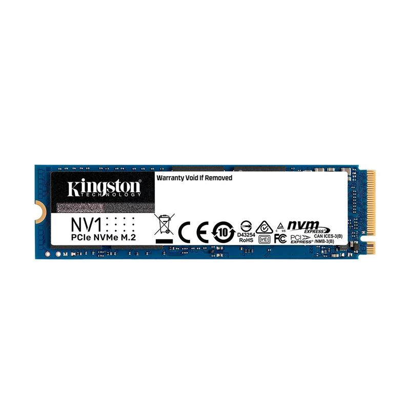 SSD 1TB NV1 M.2 NVMe Kingston - 2100MBs/1700MBs - M2 2280 SNVS/1000G