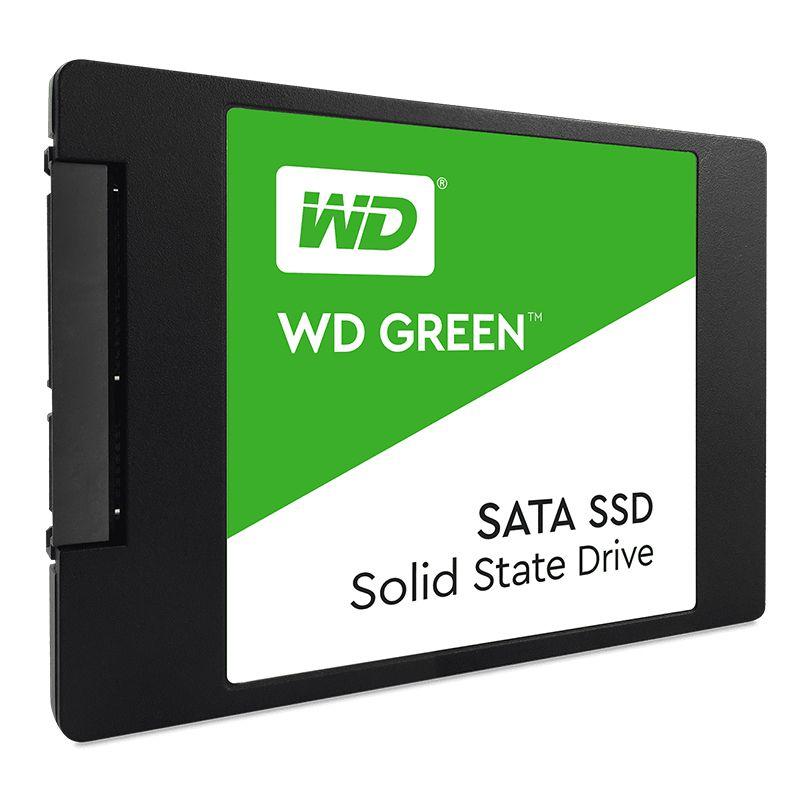 """SSD 480GB 2.5"""" Western Digital Green"""