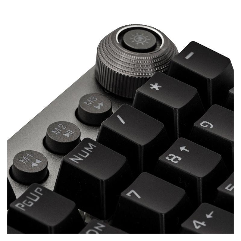 Teclado Mecânico Gamer PRO K7 Rainbow Fortrek - Retroiluminado com 22 efeitos de iluminação, Teclas macro, Switch KRGD Blue, ABNT2