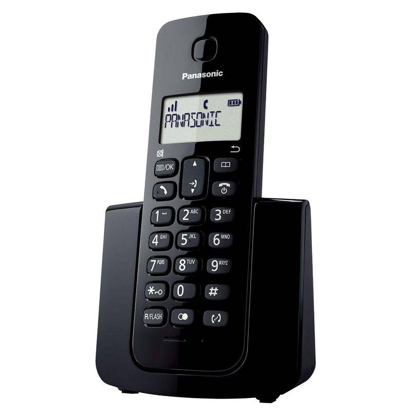 Telefone sem Fio Panasonic com Identificador de chamadas, DECT 6.0 - KX-TGB110LBB