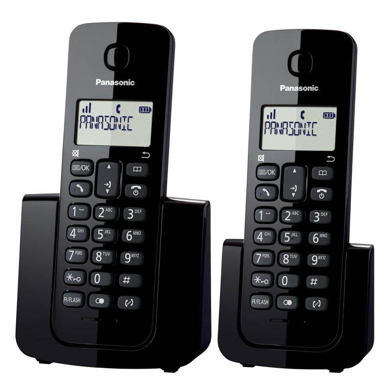 Telefone Sem Fio Panasonico com Ramal - Com Identificador de chamadas - KXTGB112LBB