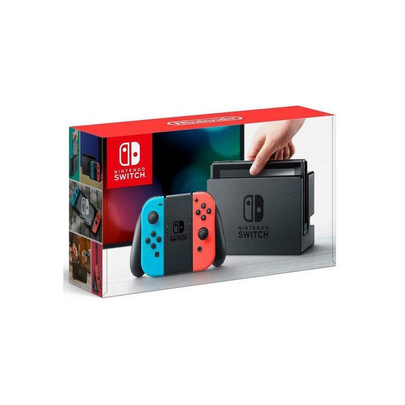 Console Nintendo Switch Neon - 32GB - Azul e Vermelho