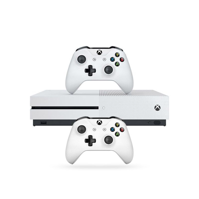 Console Xbox One S 500GB + Forza Horizon 3 + Hot Wheels c/ 2 Controles Wireless, 4k