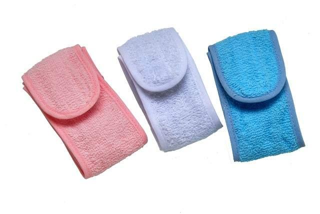 Faixa para Cabelo Atoalhada com Velcro