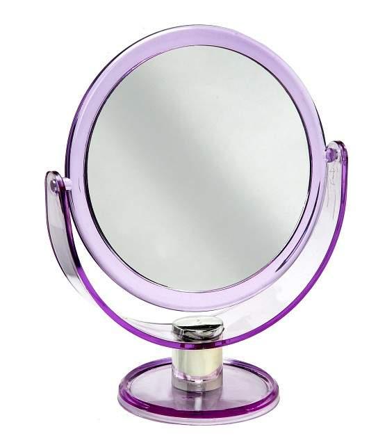 Espelho de Aumento Dupla Face - Luxo - Importado