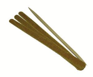 Kit Manicure - Três Lixas de Unhas e Palito para Unha Marfim