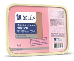 Parafina em Barra para Hidratação das Mãos e Pés Depil Bella