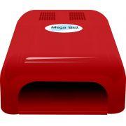 Cabine UV para Unhas de Gel e Acry-Gel Mega Bell - Vermelha 220v