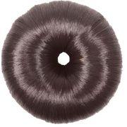 Donuts Luxo Marrom Para Penteados De Cabelos Revestido Com Fios De Nylon