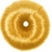 Donuts para Penteados de Cabelos Formato Coque Loiro - 01 Unidade