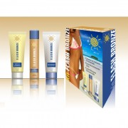 Flash Bronze Kit Sabonete Gel Esfoliante + Spray Auto Bronzeante + Lo��o Hidratante