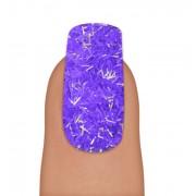 Pote Com Glitter para Decorar Unhas Formato de Lascas