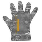 Kit Manicure Descartável Metalizado com Amolecedor