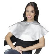 Penteador De Nylon Impermeável Redondo Prata - Santa Clara