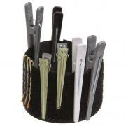 Pulseira De Velcro Para Cabeleireiros Tamanho Único - 01 Unidade