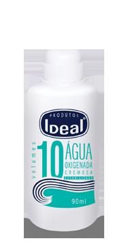 Água Oxigenada Cremosa 10 Volumes 90ml - Ideal