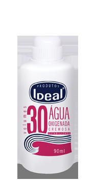 Água Oxigenada Cremosa 30 Volumes 90ml - Ideal