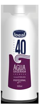 Água Oxigenada Cremosa 40 Volumes 900ml - Ideal