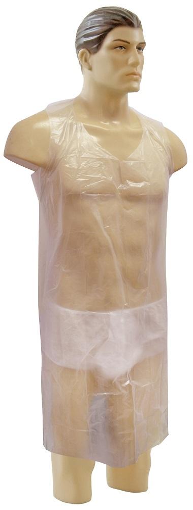 Avental Descartável Plástico 06 Unidades - Santa Clara