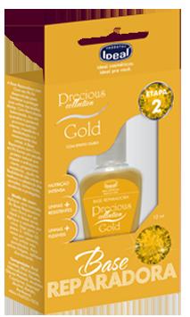 Base Reparadora Gold Para Unhas 12ml - Ideal