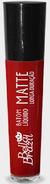 Batom Líquido Matte longa duração Cor 10 - Bella Brazil