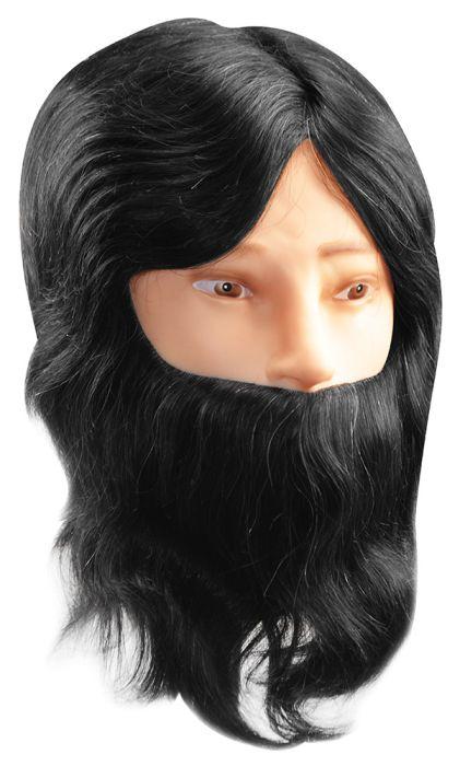 Cabeça para Treino de Corte de Cabelo Maculino Cabelo e Barba