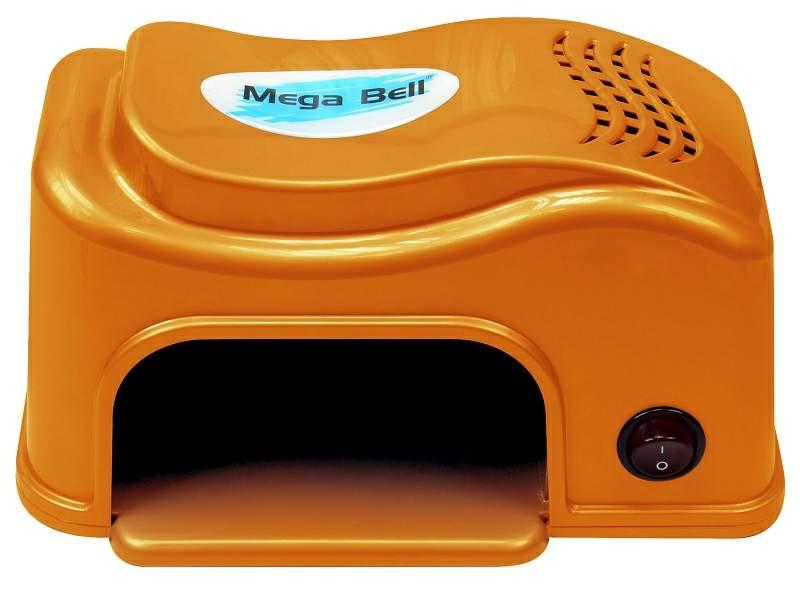 Cabine UV Compact para Unhas - Mega Bell Laranja 110v