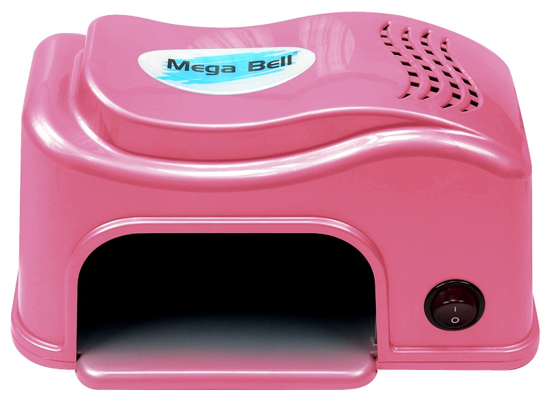 Cabine UV Compact para Unhas - Mega Bell Pink 220v