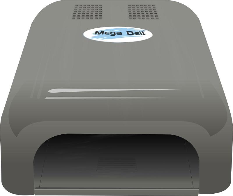 Cabine UV para Unhas de Gel e Acry-Gel Mega Bell - Prata 110v