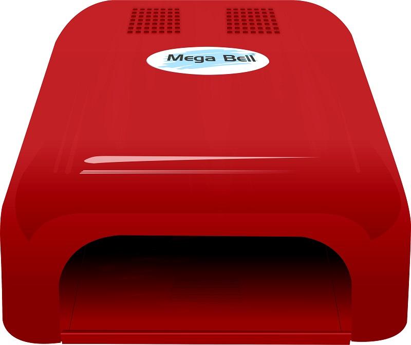 Cabine UV para Unhas de Gel e Acry-Gel Mega Bell - Vermelha 110v