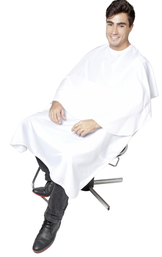 Capa Para Corte De Cabelos Nylon Conforto Com Velcro 01 Unidade