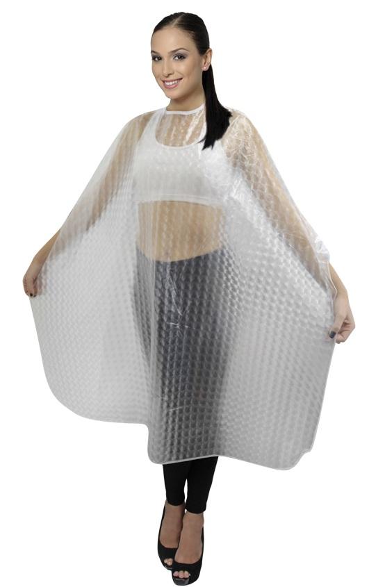 Capa PVC 3D Para Tintura/Química Sem Manga E Com Velcro