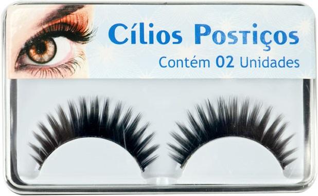 C�lios Posti�os SKE055-6 Com Pelo Sint�tico autocolantes - 02 Unidades