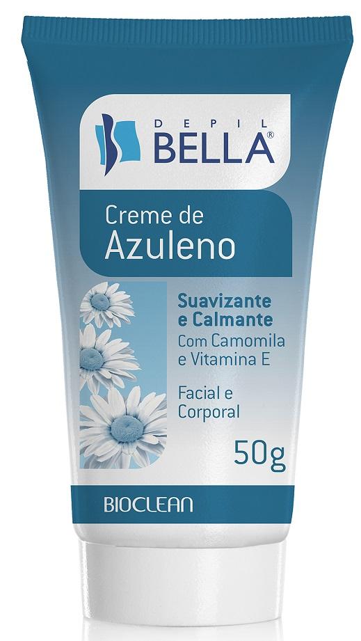 Creme De Azuleno P�s Depila��o Com Camomila e Vitamina E - Depil Bella