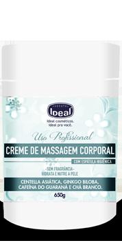 Creme de Massagem Corporal com Centella Asi�tica 650gr - Ideal
