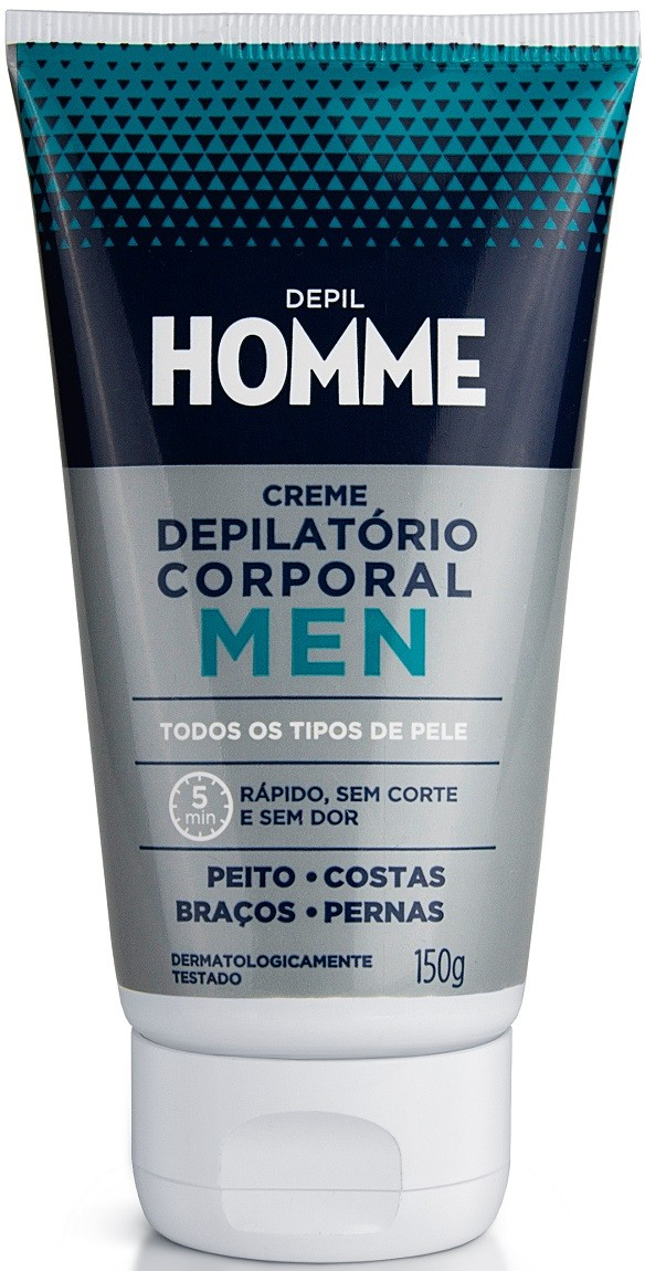 Artesanato Tecido Jeans ~ Creme Depilatório Corporal Masculino 150gr u2013 Depil Homme