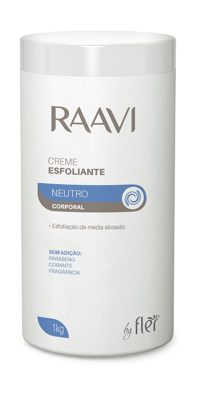Creme Esfoliante Corporal - 1kg Raavi