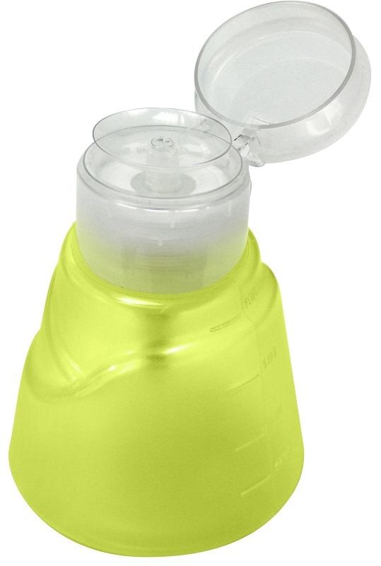 Dosador de Acetona Modelo Veneza Verde Limão 190ml - Santa Clara