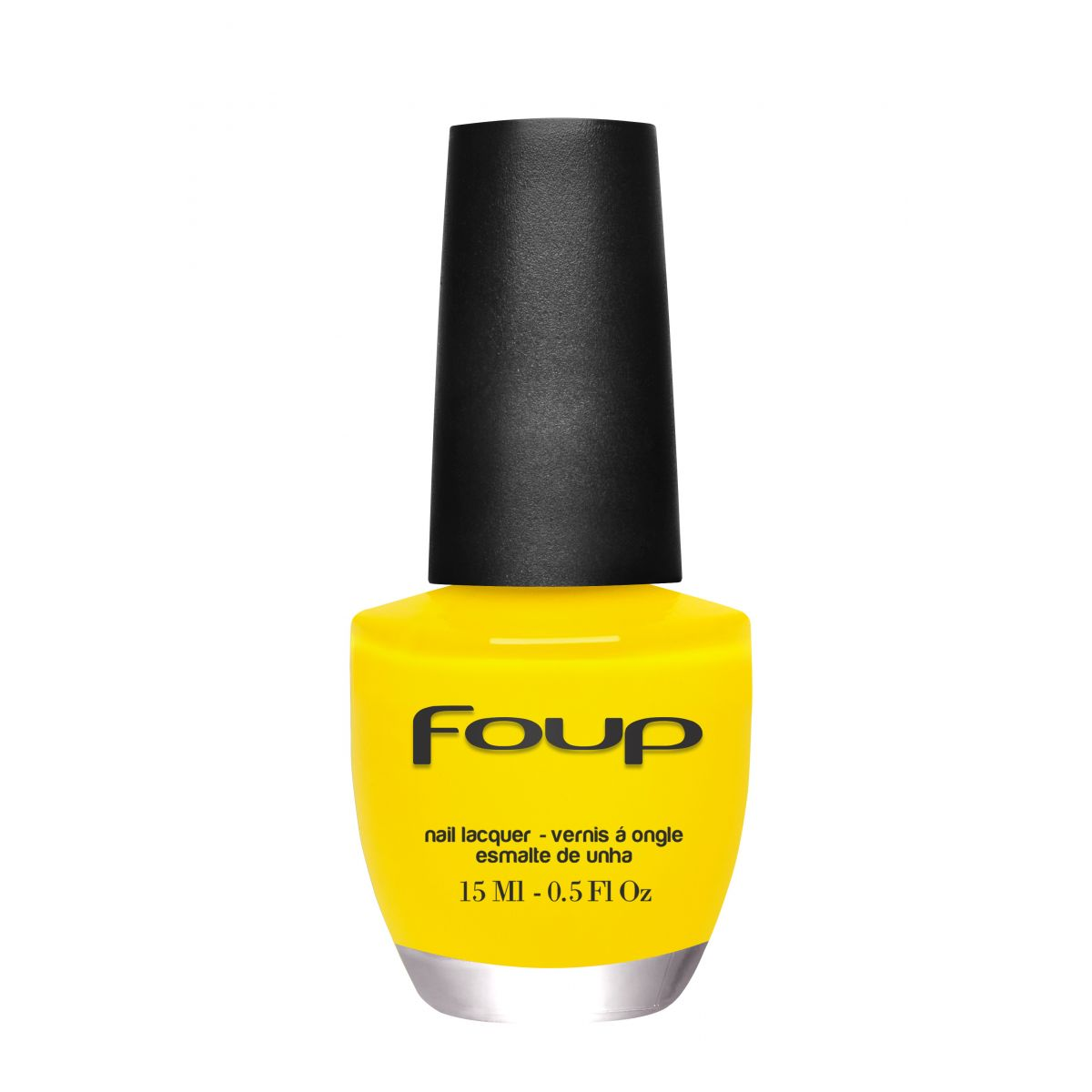 Esmalte Cremoso Yellow da Marca Foup - 15ml