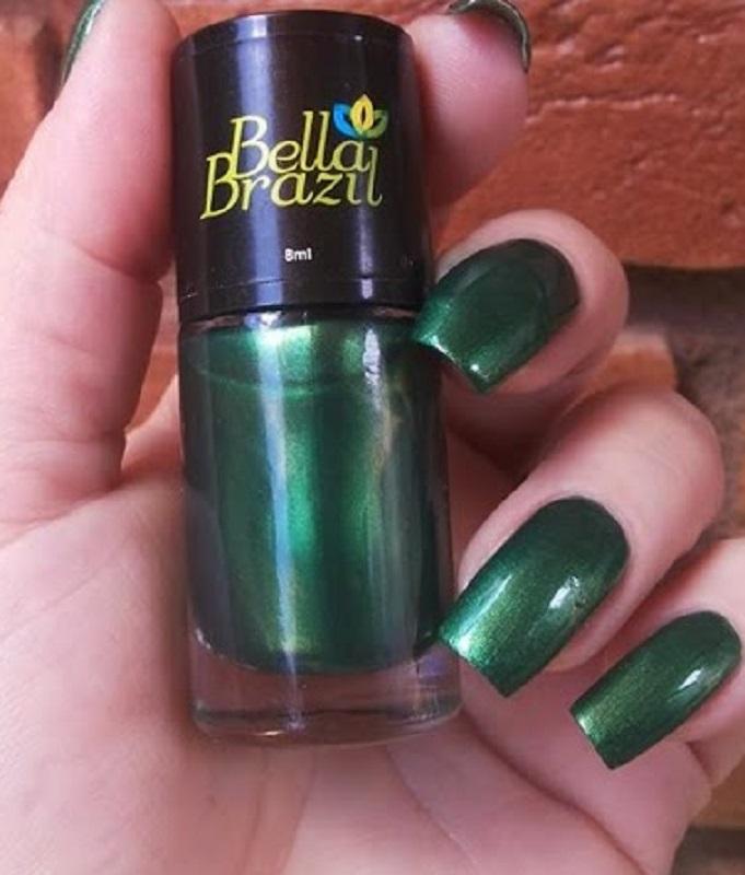 Esmalte Metalizado Alto da Sé - Bella Brazil 8 ml