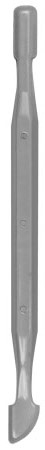 Espátula Dupla Para Cutícula Plástica Descartável - 25 Unidades