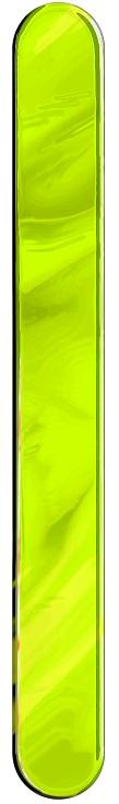 Espátula Plástica Verde Limão Descartável - 50 Unidades