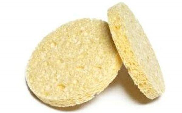 Esponja Celulose Esfoliante Pequena 2 Unidades