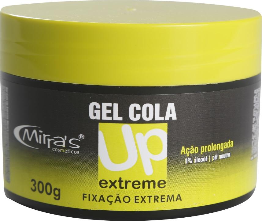Gel Cola UP Extreme Fixação Extrema 0% De Álcool 300gr - Mirra´s