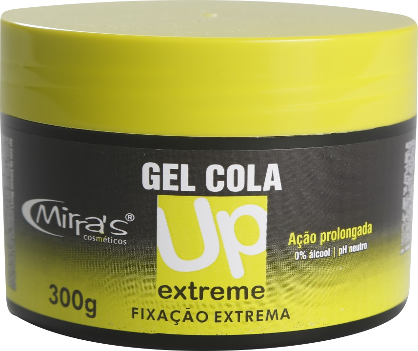 Gel Cola UP Extreme Fixa��o Extrema 0% De �lcool 300gr - Mirra�s