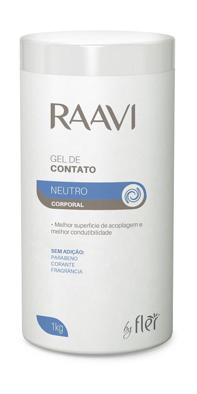 Gel de Contato para Ultrassom Neutro 1kg - Raavi