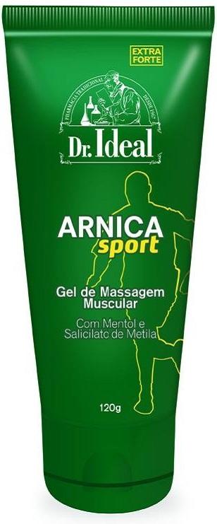 Gel para Massagem Muscular Arnica Extra Forte - 120g