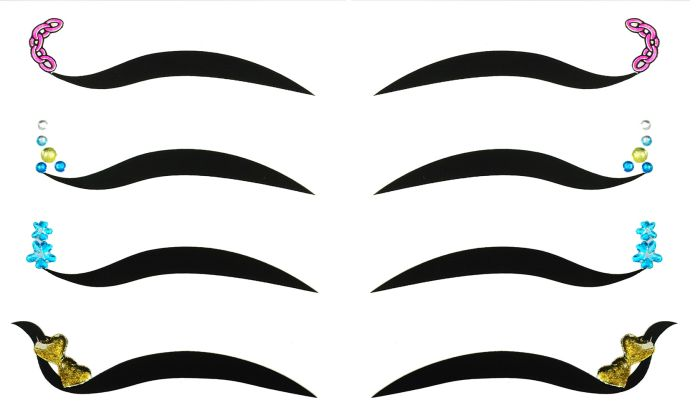 Kit Delineador Adesivo Para os Olhos EYE-1901